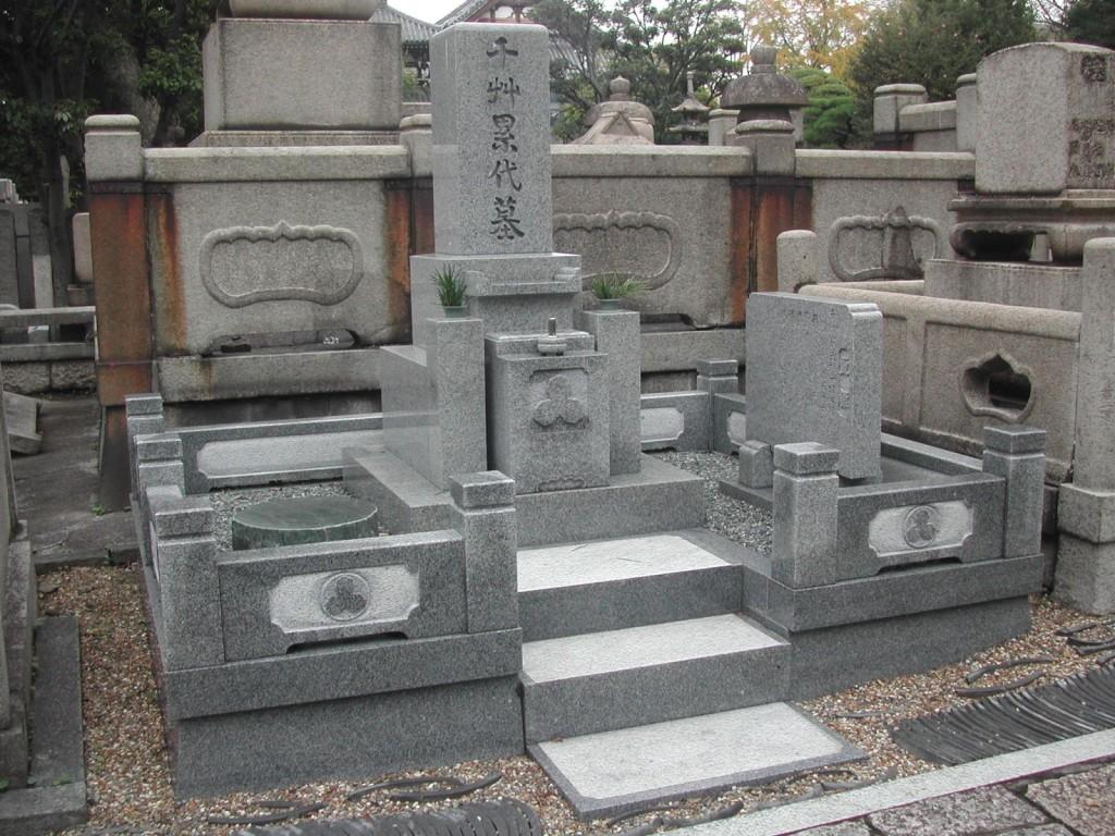 新規墓石の建立2