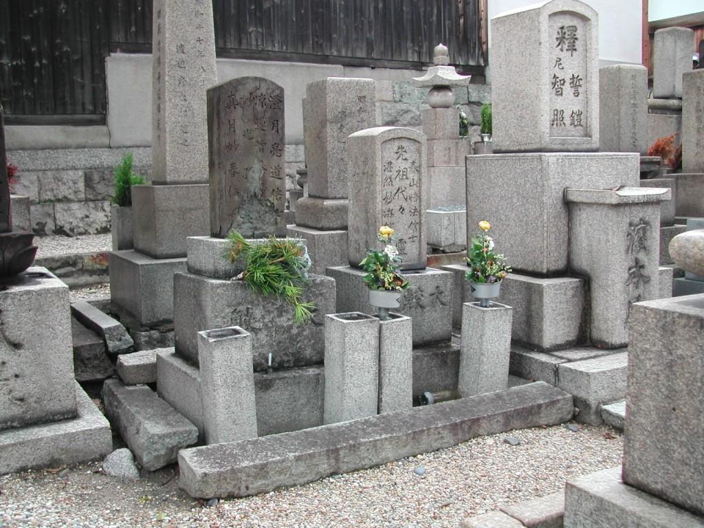 お墓の建替え前